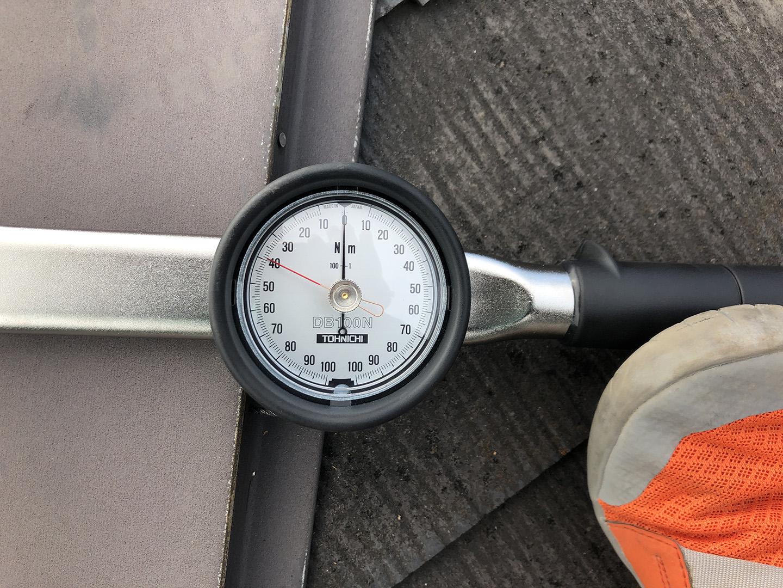釘の引き抜き強度測定