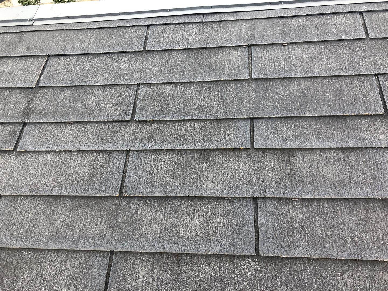 【東京都調布市】スレート屋根の棟板金の釘の増し打ち、ひび割れ補修工事の事例13