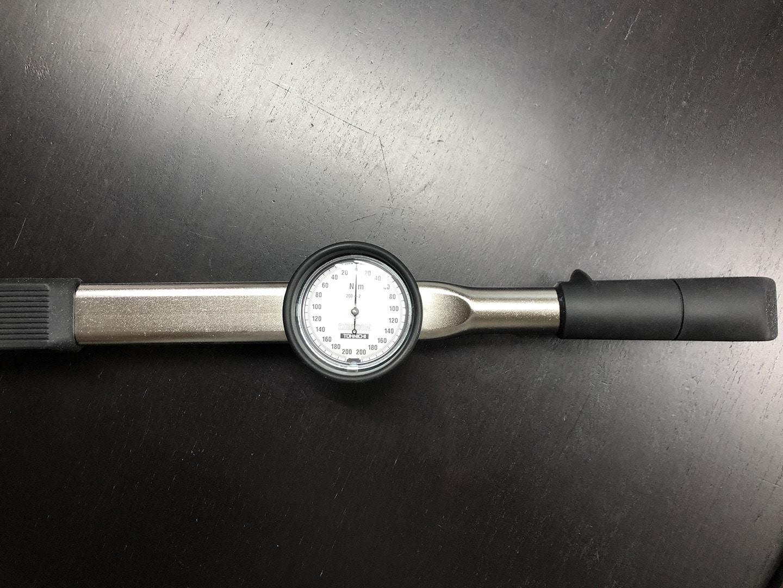 棟板金の下地木材 釘の引き抜き強度測定器