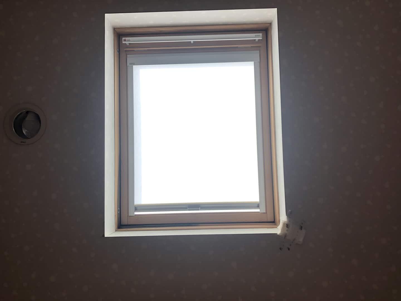 ベルックス天窓 ガラスシール工事 工事前