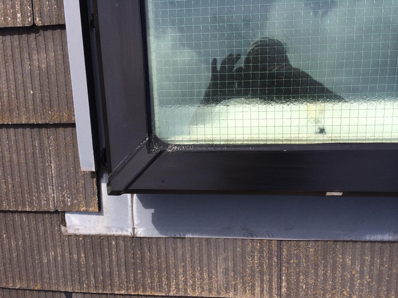 松下電工の電動開閉式の天窓 雨漏り修理完了