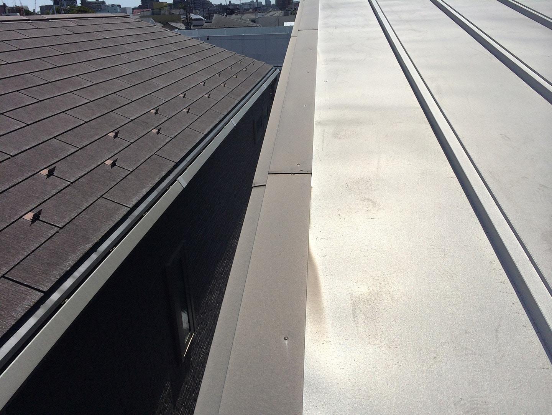 屋根周辺部 固定釘 釘頭シーリング