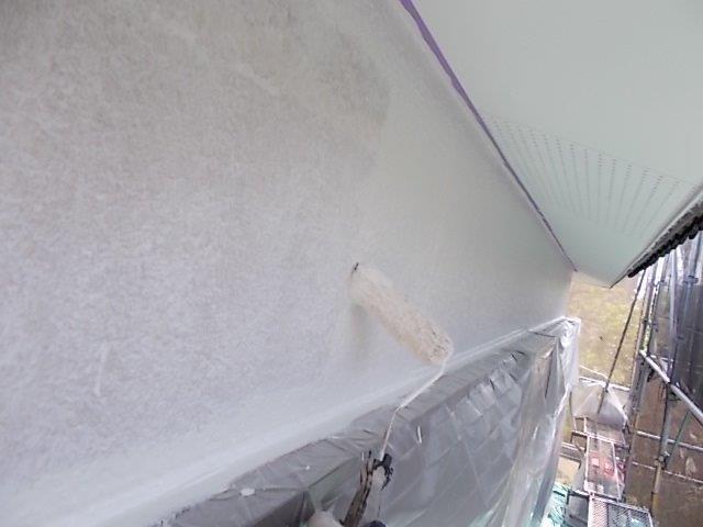 外壁塗装 外壁 中塗り