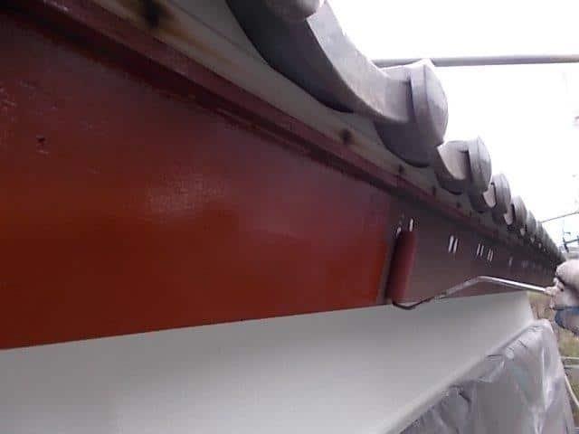 外壁塗装 破風板 下塗り