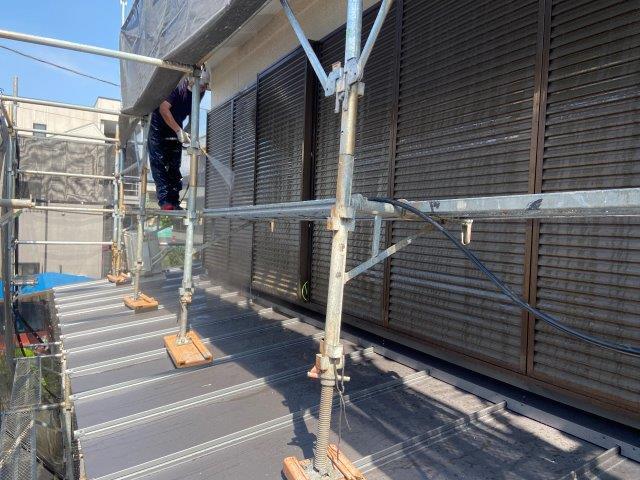 外壁塗装 高圧洗浄2