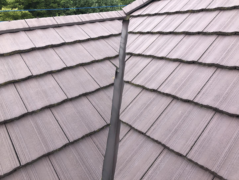 【東京都町田市】コンクリ瓦屋根のケラバ補修、部分修理工事の事例 ズレや防水の劣化