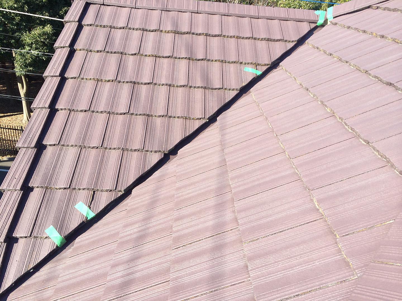 【東京都町田市】コンクリ瓦屋根のケラバ補修、部分修理工事の事例 その他 細かい修理