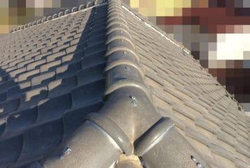 瓦屋根ガイドライン工法 工事完了