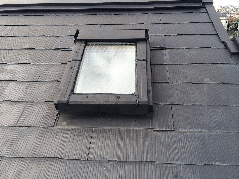 ベルックス天窓雨漏り修理事例 工事完了