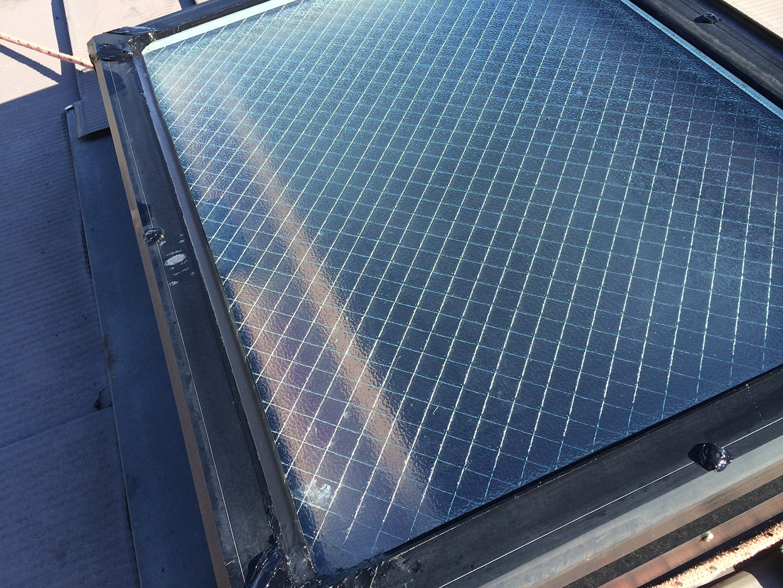 天窓のガラスパッキンの雨漏り予防メンテナンス工事の事例 その他補修