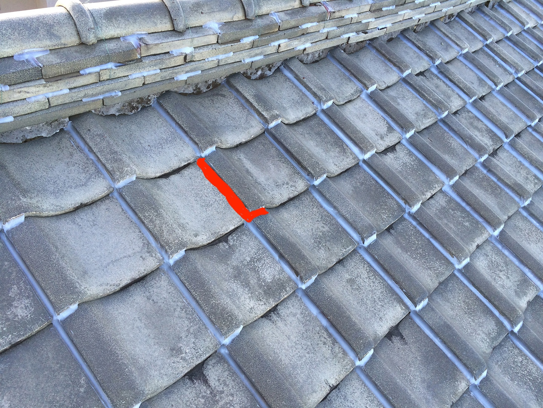 【さいたま市浦和区】瓦屋根の台風対策。瓦屋が考えた新しいラバーロックの工事事例と価格 ラバーロック (L字)