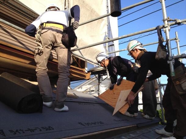 屋根工事 屋根職人