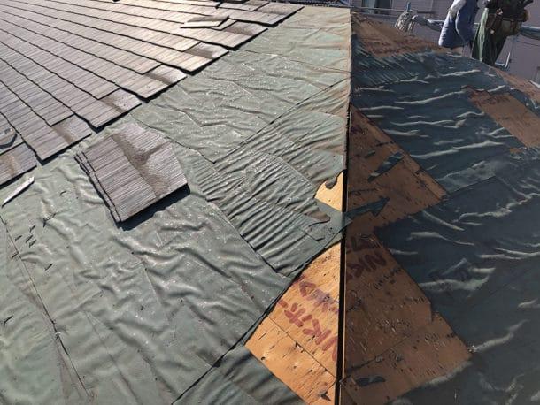 スレート屋根から雨漏りしている場合は葺き替えが必要