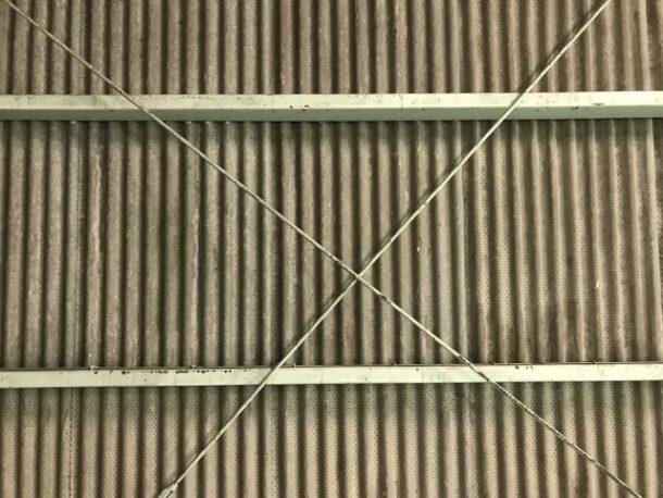 スレート板は外壁としても使用されている