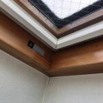 【埼玉県朝霞市】YKKAP天窓のガラスパッキン劣化による雨漏りの修理工事の事例