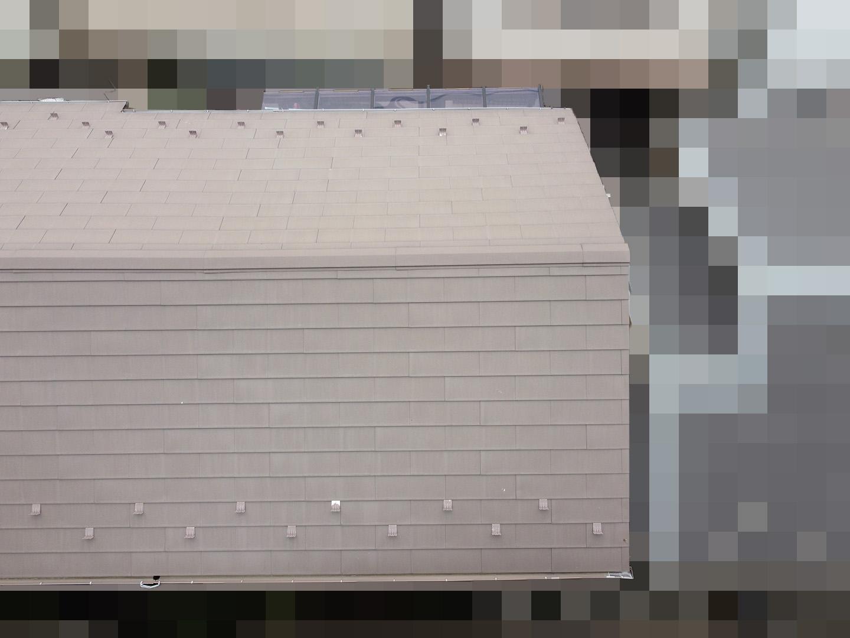 【東京都品川区】業者指摘の不安解消で、ガルバリウムの金属屋根のドローン点検の事例 北面