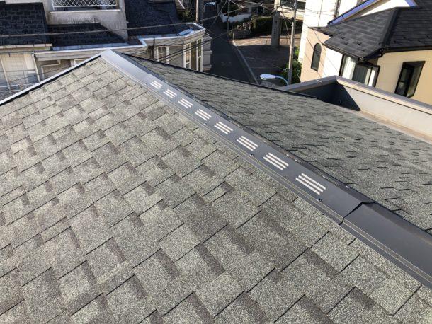 葺き替えを行った屋根