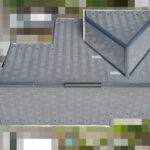 【東京都府中市】築17年、アスベスト未使用のスレート屋根の今後のメンテナンス相談で、屋根点検の事例