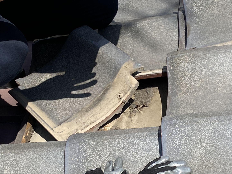 屋根の防水、下地の確認