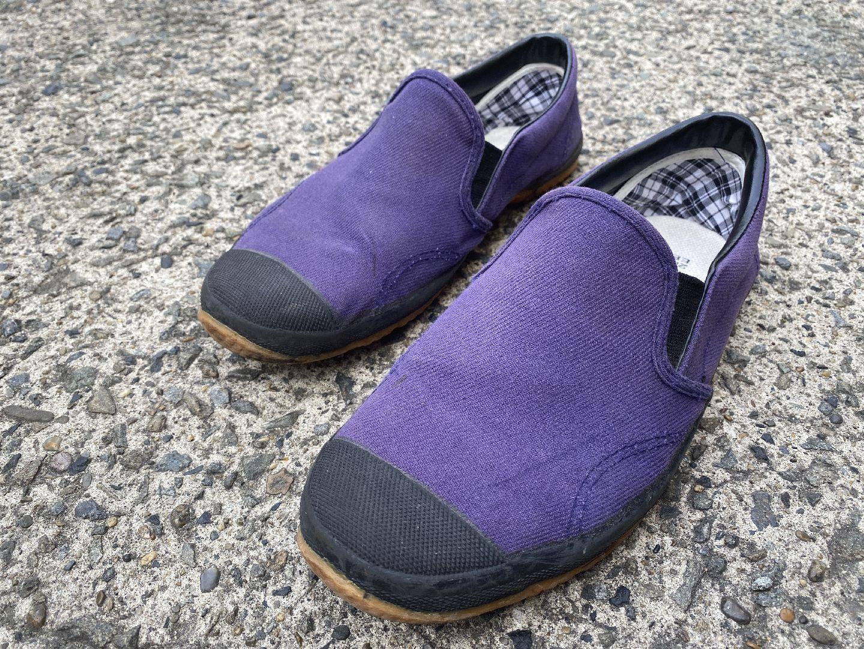 履いていた靴