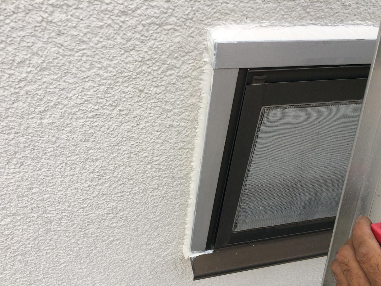 窓 雨漏り修理 窓まわり修理完了