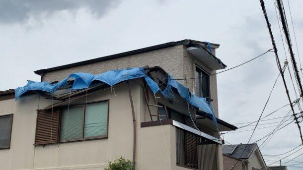 台風被害に合った際の対処法