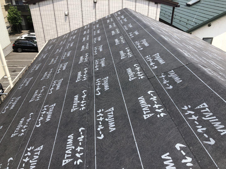 防水シート 屋根 和瓦 葺き替え