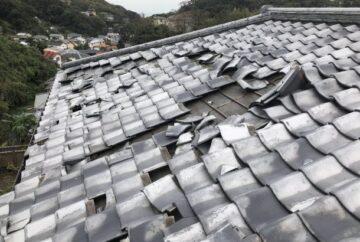 台風に強い屋根の形状や特徴は?屋根材が飛んでしまう原因も合わせて紹介!
