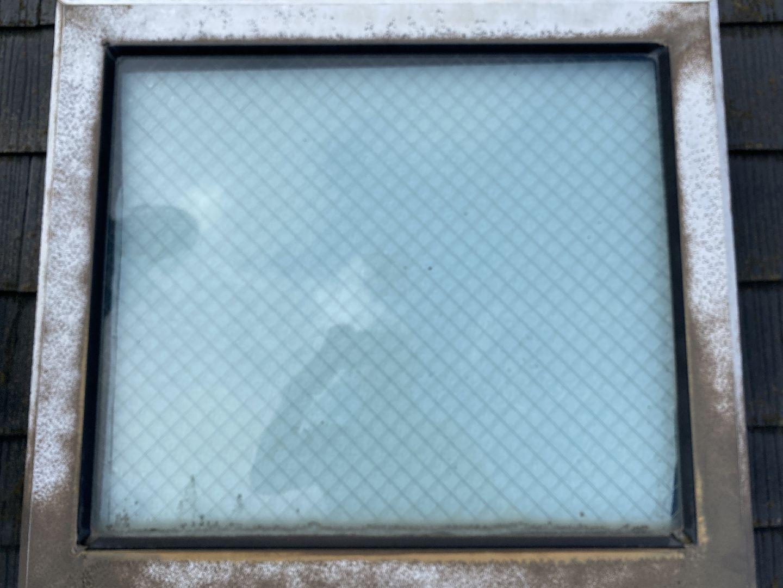 天窓 トップライト スレート屋根 北