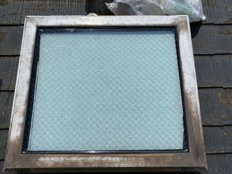 養生撤去 天窓 雨漏り メンテナンス