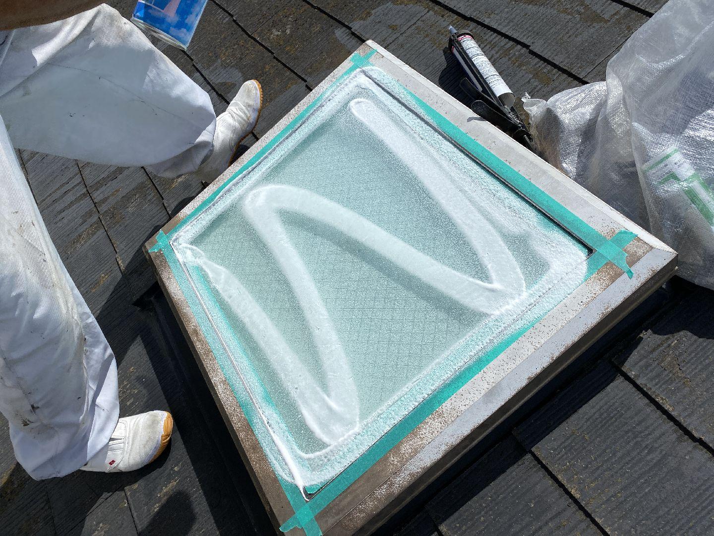 ガラス清掃 天窓 トップライト