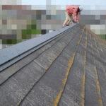 【千葉県松戸市】アスベスト入りのスレート屋根の屋根点検の事例